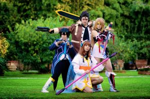 Tales of Xillia GROUP by Kozato-kun