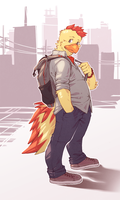 City Chicken by Orangetavi