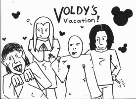 Voldy's Vacation by RouxWolf