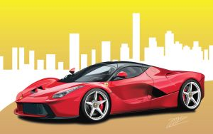 Laferrari vector by Ryancy