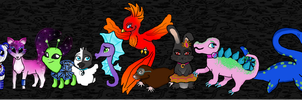My ten pets by cammie3267
