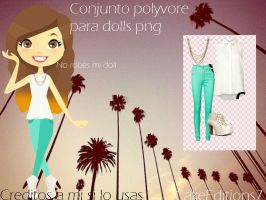 Ropa Polyvore para dolls png by CakeEditions7