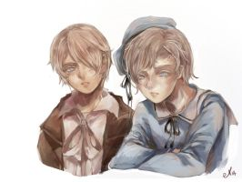 Emil and Luke by el2san