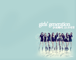 SNSD Wallapaper 4 by tifflebear