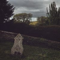 Grave on the hillside by Said-we-were-fine