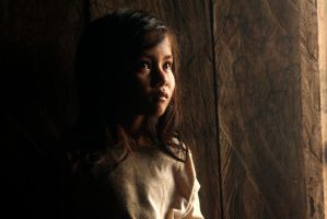 girl in cambodia by theEmptyBox