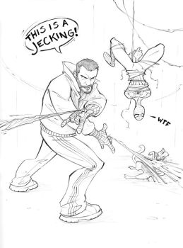 Grand Theft Web-slinger by PatrickBrown