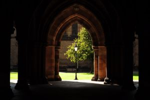 Glasgow University, West Quadrangle by SophieVogel