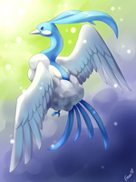 Altaria, the Humming Pokemon by Togechu