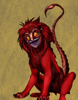 A Manticore by Amelius