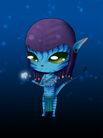 Neytiri Chibi - Request - by AngelLale87
