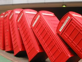 Kingston Telephone Boxes by Narfmaster