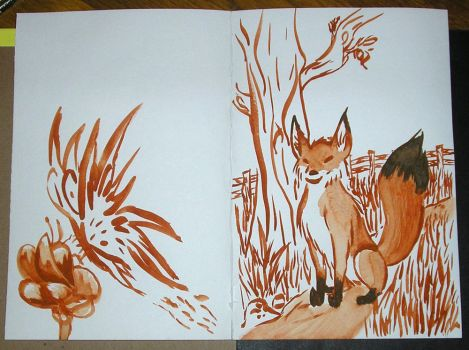 The Butterfly and the Fox by shemara