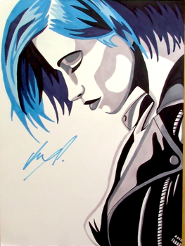 Hayley Williams Ink Drawing by AnthonyParenti