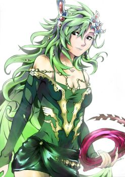 Rydia of the Mist by Antiiheld
