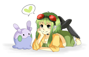 Goomy and Gumi by Riizu-chii
