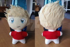 Niall Horan of One Direction Plushie by SaphireSkyline