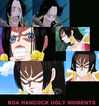 Boa Hancock ugly/scary moments by ABURAMEFANFOREVER