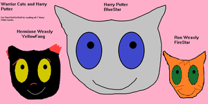 Warrior Cats And Harry Potter For FlareTheFireWolf by charmander62090