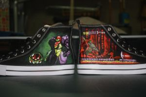 Custom Metroid Shoes 2 by Harpo-exe