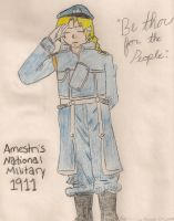 Major Elric, Age 12 by TheOnlyBandGeek99