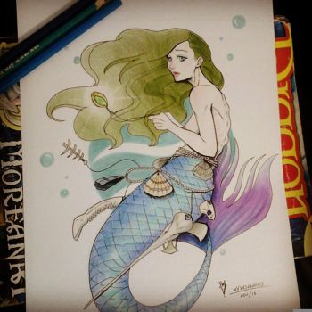 Mermaid by Mirthol