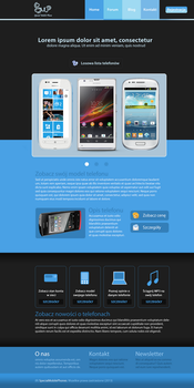 Special Mobile Phone Website by treil17