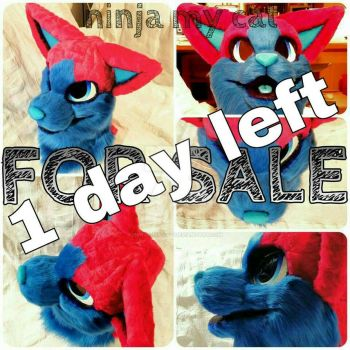 1 day left for auction by ninja-my-cat