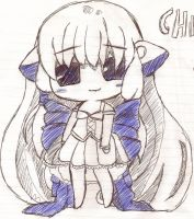 Chibi Chi from Chobits by yeaboikat
