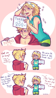 Thanks for 200+! by deads-on