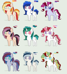 More Pone Adopts by Ask--Frightspark