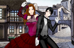 Lady Sabrina and Sebastian 2 by Lady1Venus