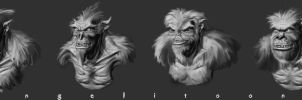 CREATURE variation concept by angelitoon