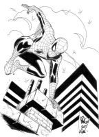 Jumping Spider-Man by SpiderGuile