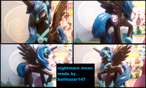 Nightmare moon custom toy by balthazar147