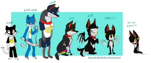 Gamibri over the years... by Gamibrii