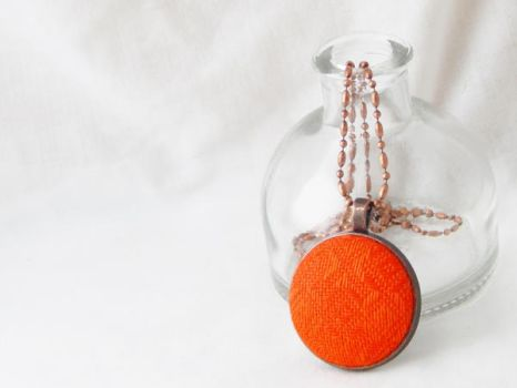 Vintage Sweater Necklace by dotdonahue