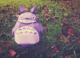 Here's my neighbor Totoro by realm-of-lost-minds