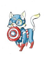 Captain Americat by Clockwork-Fox