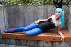 Bulma Bunny III by SydkneeBean