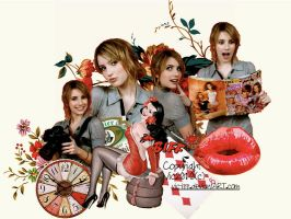 Emma Roberts RED2 by Vic-izz