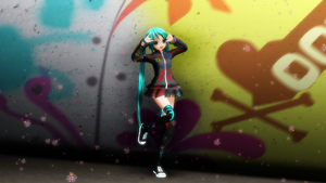 .: Typography Miku - DOWNLOAD :. by HaruDelRey