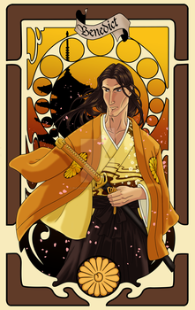 Trumps of Amber - Benedict by Tergiversatory-Proxy