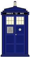 The Tardis! by Unbreakabledolphin