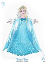 Queen Elsa - Snow Queen Version by GF by GFantasy92