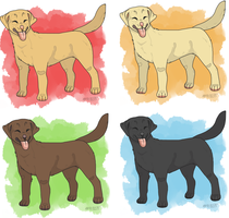 Labrador Retrievers [FP IB] by ratsmooch