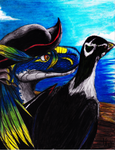 the  raptor pirate by lugiamaria
