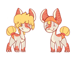 Summer pony adopt auction. - OPEN- by OfficerMittens