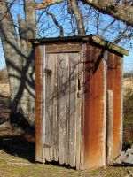 outhouse by DramaQueenB