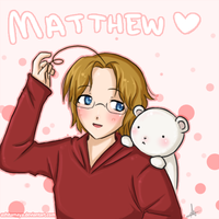 Cute Matthew by AshitaMaya